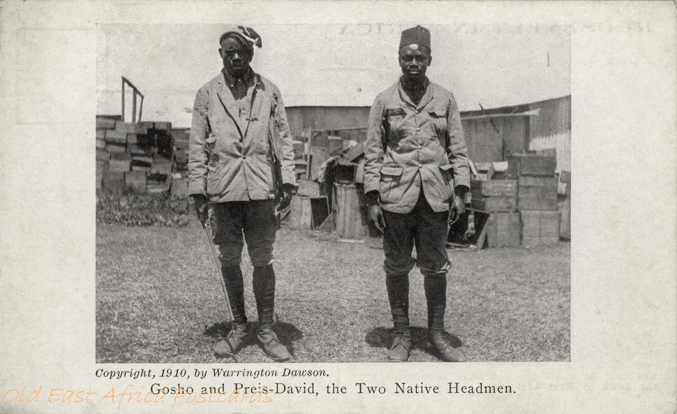 Gosho and Preis-David, the two Native Headmen -