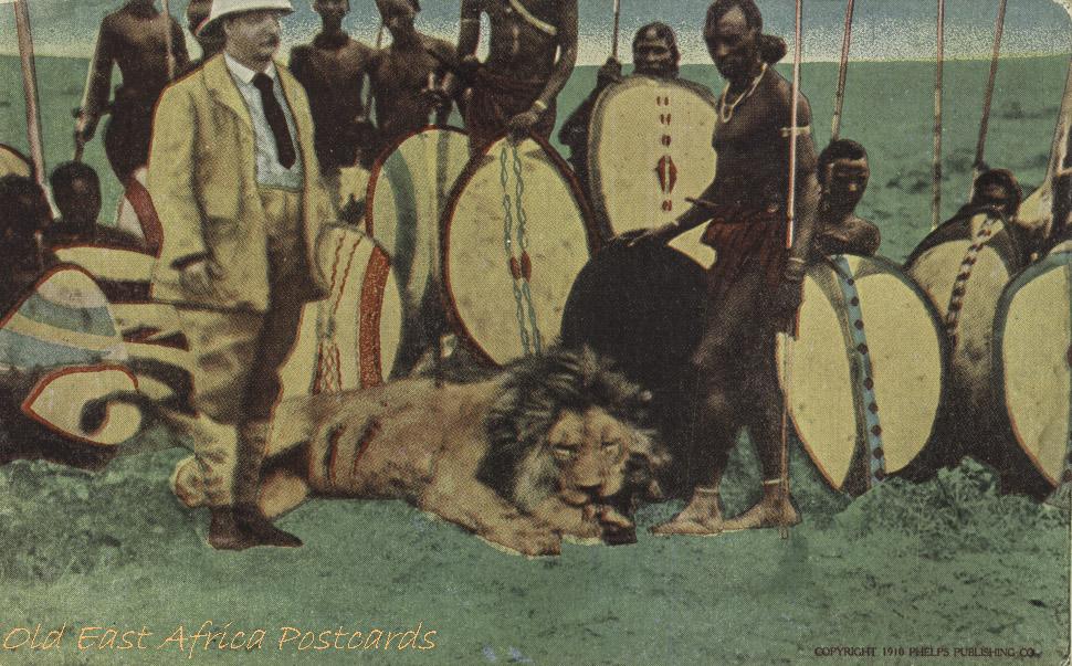 16. Lion Hunt on Athi Plains