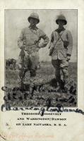 Theodore Roosevelt and Warrington Dawson