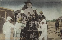 9. Roosevelt going into Africa