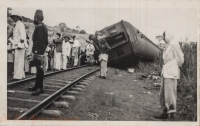 Train accident (from the track)