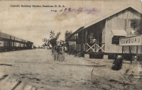 Uganda Railway Station Samburu B.E.A.