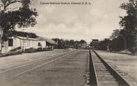 Uganda Railway Station. Kebweji B.E.A.