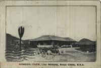 Kongoni Fram, Lake Naivasha, Kenya Colony, B.E.A.
