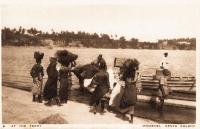 At the Ferry - Mombasa. Kenya Colony