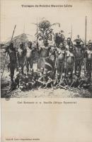 Chef Kavirondo et sa famille (Afrique Equatoriale)