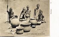 Kavirondo selling earthen pots and baskets