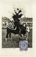 Kavirondo bull rider