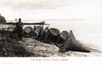Fish traps, Victoria Nyanza, Uganda