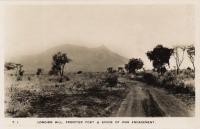 Longido Hill. Frontier post & scene of war