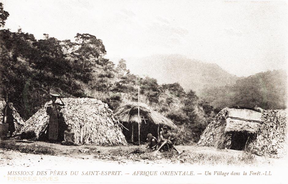 Un village dans la forêt