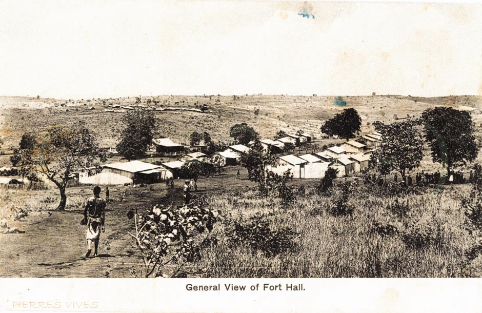 General view of Fort Hall
