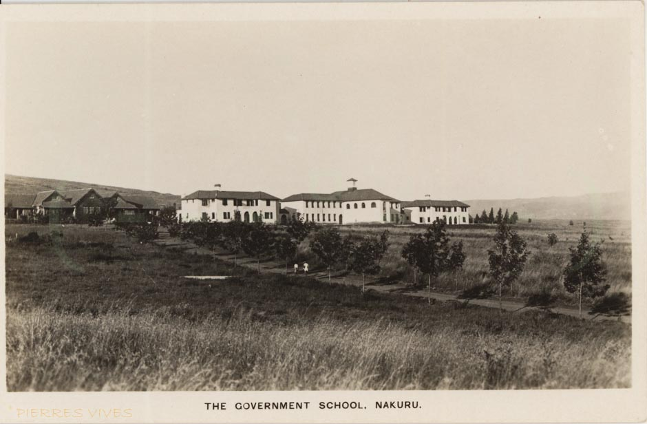 The Government Scholl. Nakuru