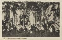 L accampamento della carovana