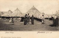 Native Village. Mombasa B.E.A.