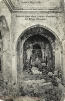 Inneres einer alten Araber-Moschee bei Kilwa Kissiwani