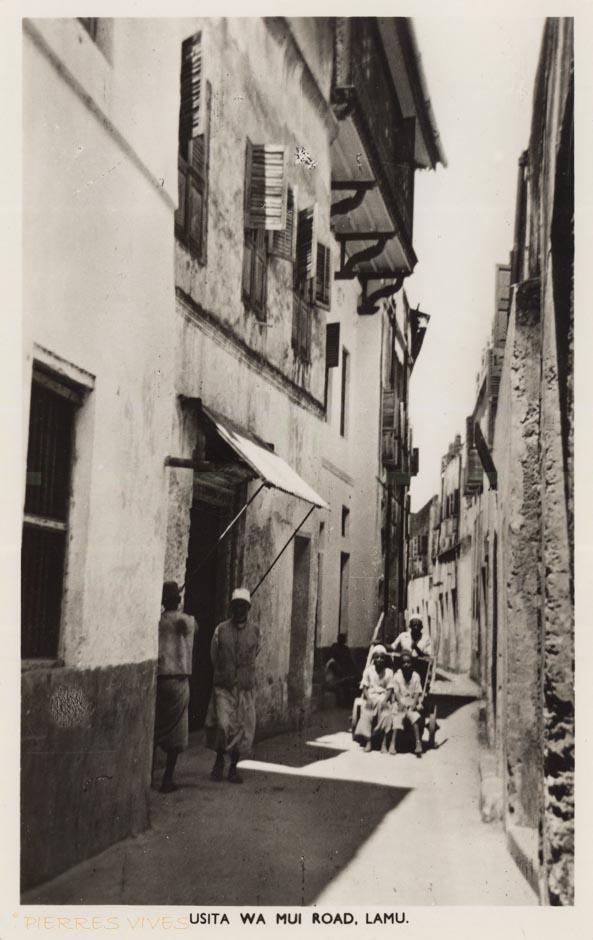 Usita wa Mui Road, Lamu.