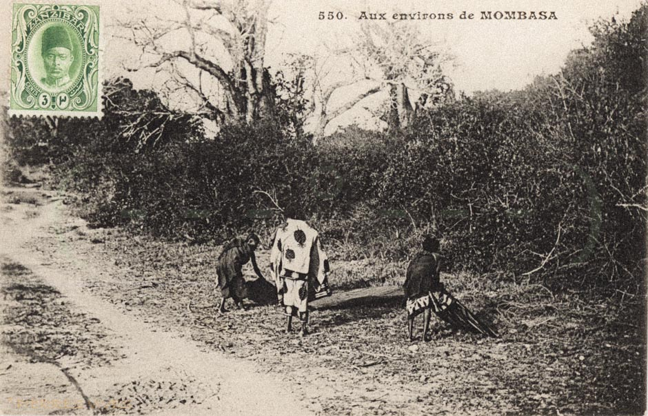 Aux environs de Mombasa