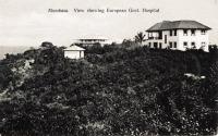 Mombasa. View showing European Gvt. Hospital