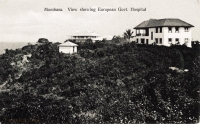 Mombasa. View showing European Gvt. Hospital