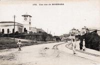 Une rue de Mombasa