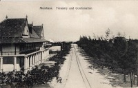 Mombasa. Treasury and Continuation