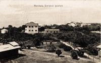 Mombasa. European quarters