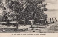 The Spot where Sir Thomas London was murdered. Mombasa