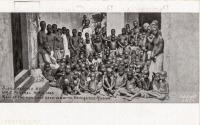 Slaves recued by H.M.S. Philomel, April 1894