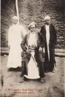 A Well-known Arab Chief (Liwali) - B.E.A.