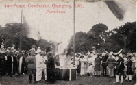 Peace Celebration Gathering, 1919, Mombasa