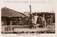 Fetching Water from the Well. Mombasa