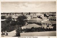 Bird s-eye-view of town, Mombasa