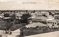 Town view of Mombasa