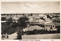 Bird s-eye-view of town, Mombasa