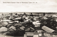 Grand North Eastern view of Mombasa Town, B.E.A.