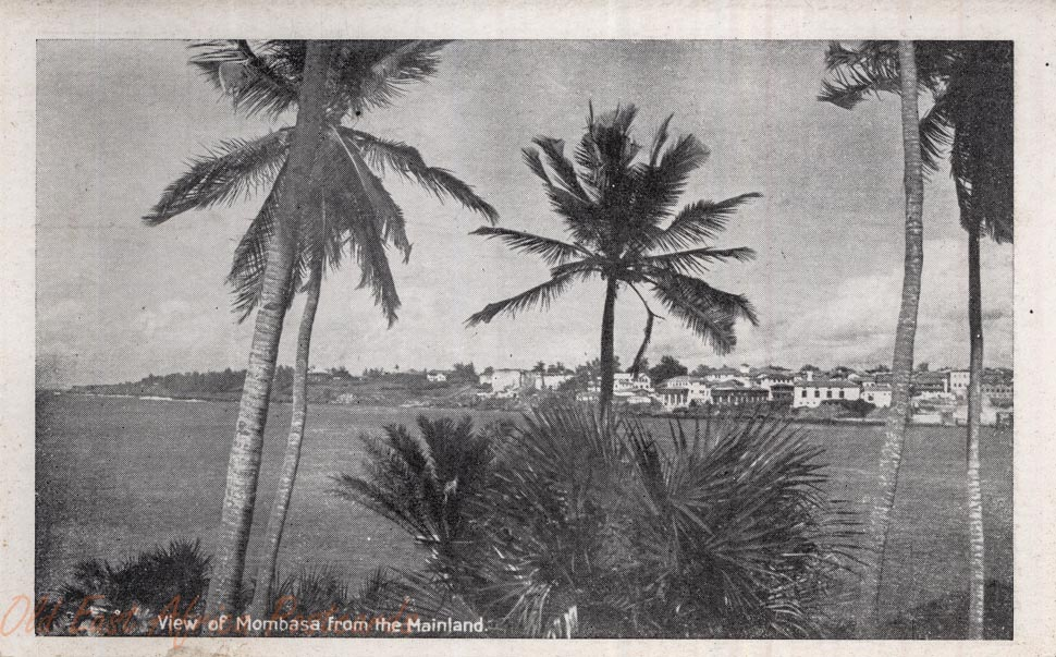 View of Mombasa from the Mainland