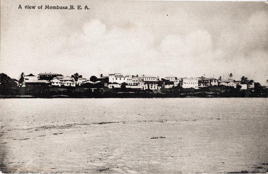 A view of Mombasa - B.E.A.