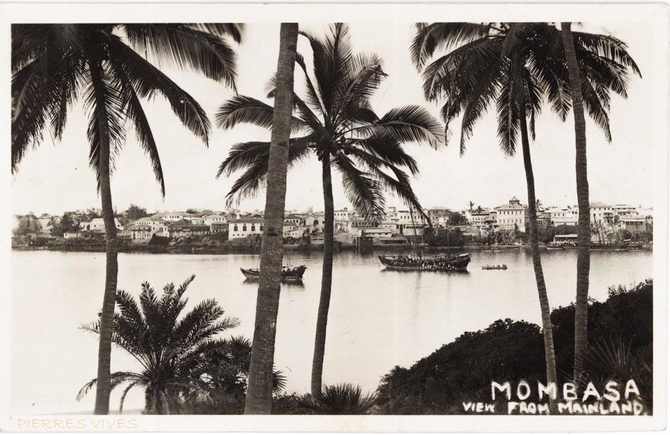 MOMBASA view from mainland