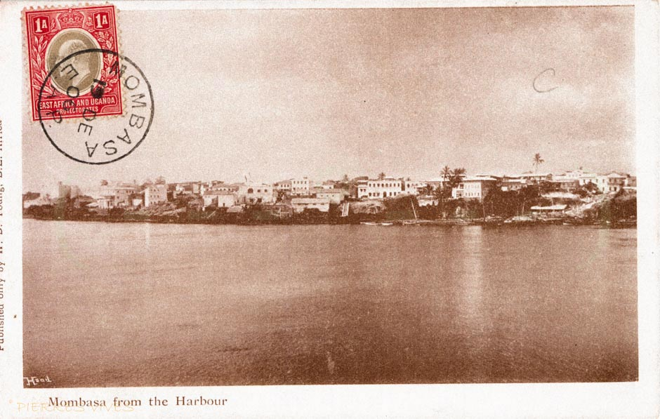 Mombasa from the Harbour