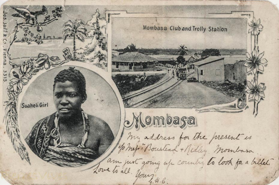 Suaheli Girl + Mombasa Club and Trolly Station