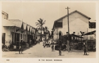 In the Bazaar, Mombasa