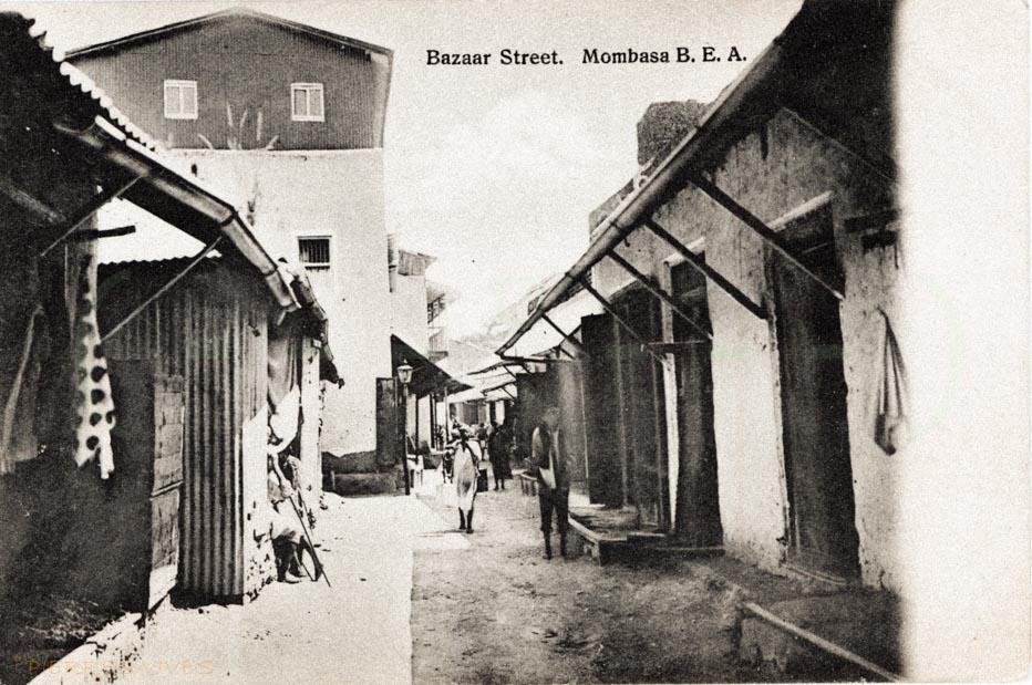 Bazaar Street, Mombasa, B.E.A.