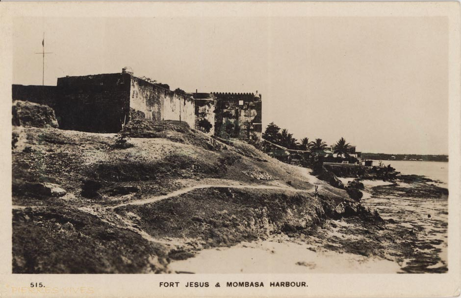 Fort Jesus and Mombasa Harbour