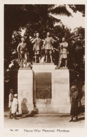 Native War Memorial, Mombasa