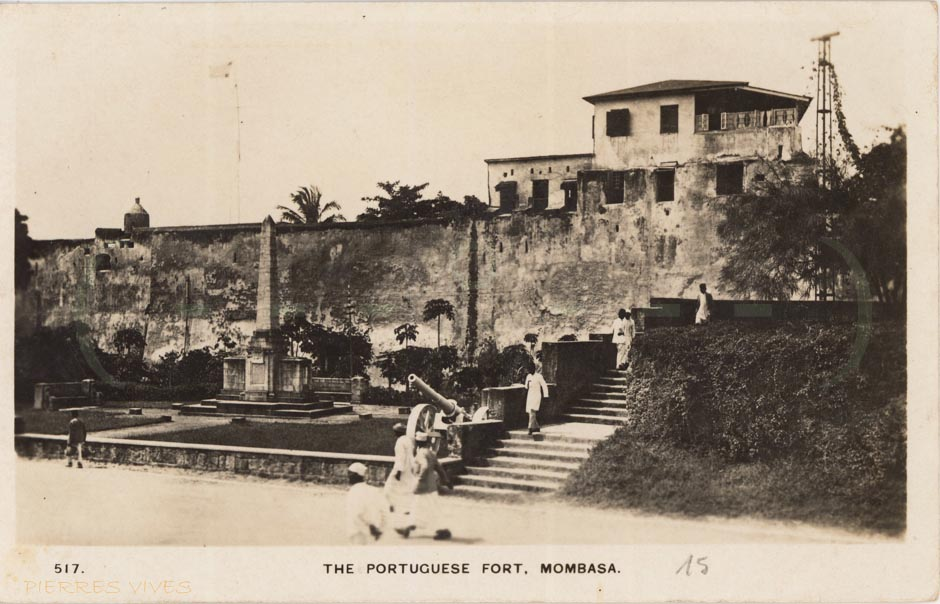 The Portuguese fort, Mombasa