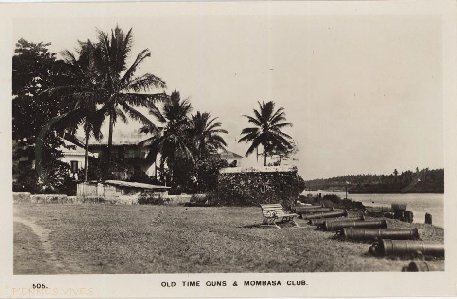 Old time guns & Mombasa Club