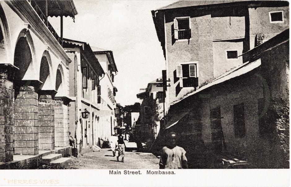Main Street. Mombassa.