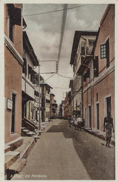 A Street, Old Mombasa