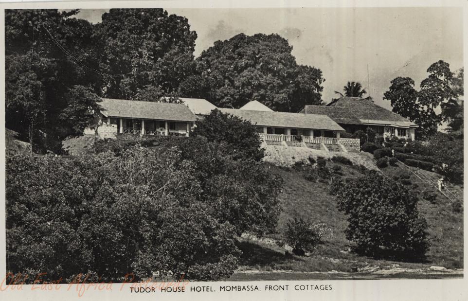 Tudor House Hotel, Mombasa - Front cottages